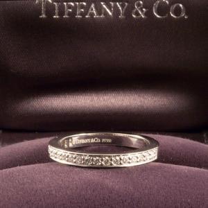 Tiffany&Co. ティファニー ハーフエタニティリング|jewelelegance|03