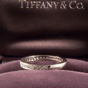 Tiffany&Co. ティファニー ハーフエタニティリング|jewelelegance|04