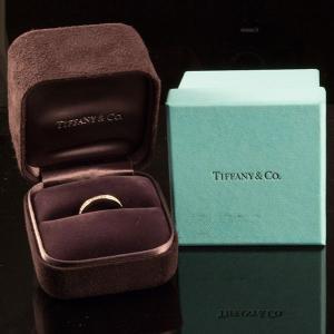 Tiffany&Co. ティファニー ハーフエタニティリング|jewelelegance|06