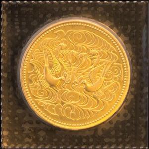 天皇陛下御在位60年記念10万円金貨 ブリスターパック入【中古】|jewelelegance