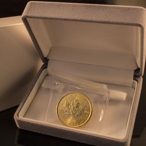 カナダ メイプルリーフ 金貨 1oz|jewelelegance