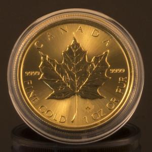 カナダ メイプルリーフ金貨 1oz 2015|jewelelegance
