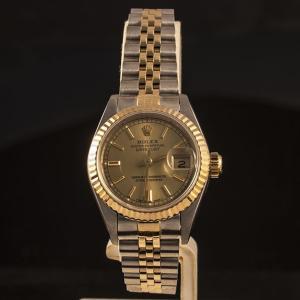 ロレックス ROLEX デイトジャスト オイスターパーペチュアル 69173 レディース|jewelelegance