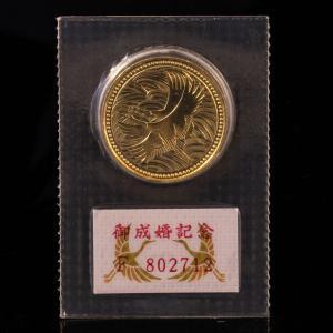 御成婚記念5万円金貨|jewelelegance