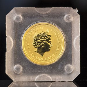 オーストラリア カンガルーナゲット金貨 1/10OZ K24 9999(フォーナイン)|jewelelegance