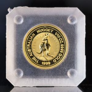 オーストラリア カンガルーナゲット金貨 1/10OZ K24 9999(フォーナイン)|jewelelegance|02