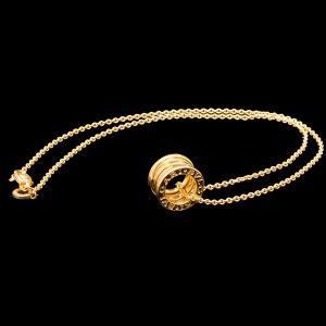 ブルガリ B.zero1 ペンダント YG750 K18イエローゴールド ネックレス|jewelelegance