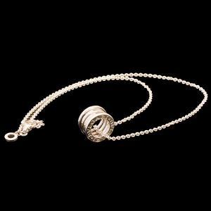 ブルガリ B.zero1 ペンダント WG750 K18ホワイトゴールド ネックレス|jewelelegance