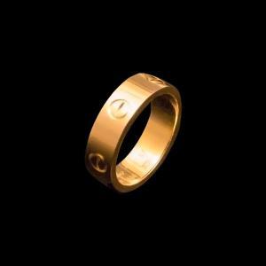 カルティエ ラブリング YG750 K18 イエローゴールド|jewelelegance