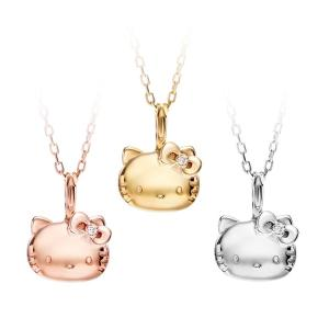 Hello Kitty 18金 フェイス ネックレス  レディースジュエリー アクセサリー ギフト プレゼント 誕生日|jewelplus