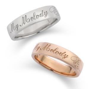 マイメロディ ロゴリング mymelody ring|jewelplus