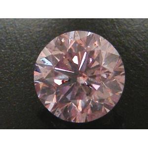 大粒 1ct ピンクダイヤモンド ルース 1.160ct FANCY PURPLISH PINK I1