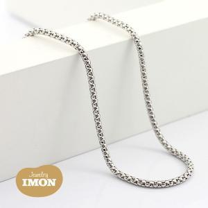 K18WG ボンバータ ネックレス 0.45φ 45cm|jewelry-imon