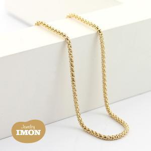 K18 ボンバータ ネックレス 0.40φ 45cm|jewelry-imon