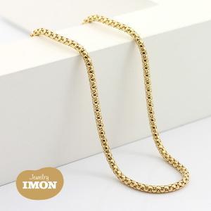 K18 ボンバータ ネックレス 0.45φ 45cm|jewelry-imon