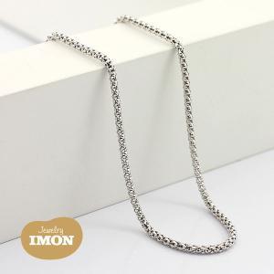 K18WG ボンバータ ネックレス 0.40φ 50cm|jewelry-imon