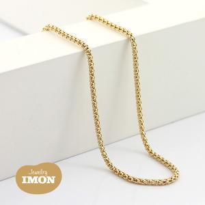 K18 ボンバータ ネックレス 0.40φ 50cm|jewelry-imon