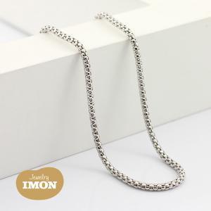 K18WG ボンバータ ネックレス 0.45φ 60cm|jewelry-imon