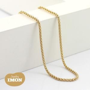 K18 ボンバータ ネックレス 0.40φ 60cm|jewelry-imon