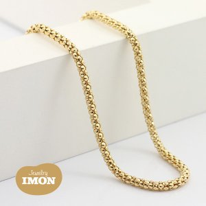 K18 ボンバータ ネックレス 0.60φ 60cm|jewelry-imon