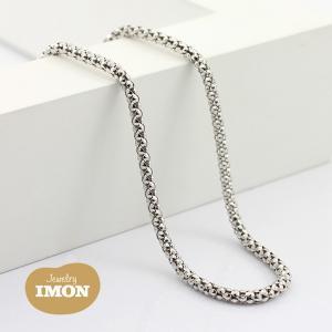 K18WG ボンバータ ネックレス 040φ 80cm|jewelry-imon