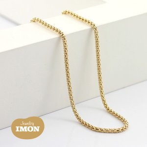 K18 ボンバータ ネックレス 0.40φ 80cm|jewelry-imon