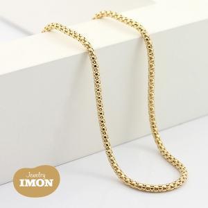 K18 ボンバータ ネックレス 0.45φ 80cm|jewelry-imon