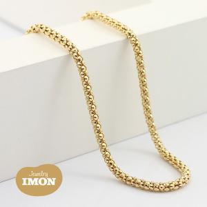 K18 ボンバータ ネックレス 0.60φ 80cm|jewelry-imon