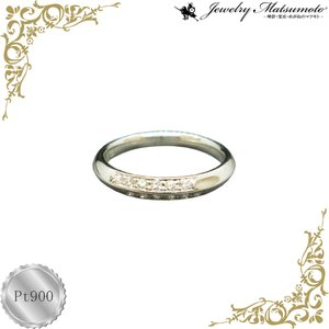 リング レディース ダイアモンド 4月 誕生石 ダイヤモンド プラチナ Pt900 jewelry-matumoto
