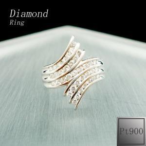 リング レディース ダイアモンド 4月 誕生石 ダイヤモンド プラチナ Pt900 ○ jewelry-matumoto