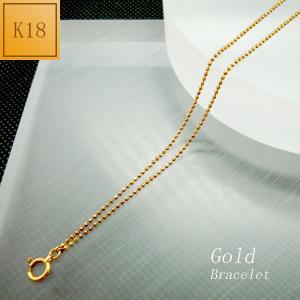 ブレスレット レディース 二連 チェーンタイプ 18金 K18 jewelry-matumoto