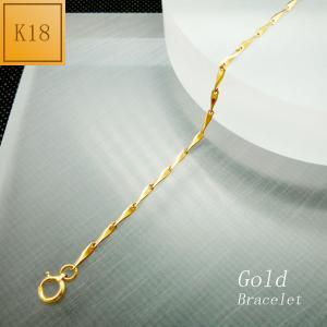 ブレスレット レディース チェーンタイプ 18金 K18 jewelry-matumoto