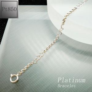 ブレスレット レディース チェーンタイプ プラチナ Pt850 jewelry-matumoto