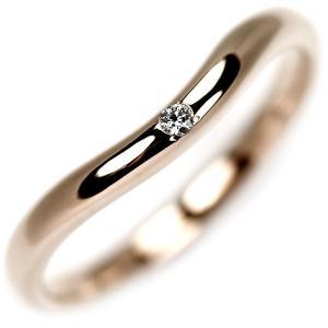 K18PG ダイヤモンド リング 0.015ctジュエリーNJ