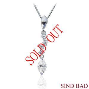 ●マーキースダイヤモンド:0.225ct  ●メレダイヤ:0.053ct  ●素材(ペンダントヘッド...