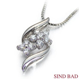 スイートテンダイヤモンド プラチナ ネックレス ペンダント 0.12ct 【スイート10 ダイヤモンド】 jewelry-sindbad