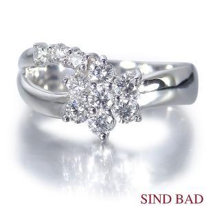 スイートテンダイヤモンド 指輪 プラチナ リング 0.4ct|jewelry-sindbad