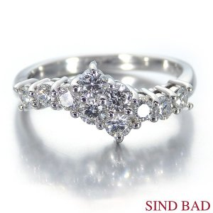 スイートテンダイヤモンド 指輪 プラチナ リング 0.56ct|jewelry-sindbad