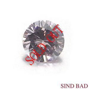 天然ピンクダイヤモンド ルース 0.061ct FANCY LIGHT PINK SI-2 中央宝石研究所 ソーティング付き【ペンダント・指輪・ブローチ等 加工可能】|jewelry-sindbad