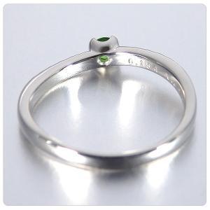 デマントイドガーネット 0.134ct 指輪 プラチナ リング ガーネット 0.134ct ダイヤ 0.095ct jewelry-sindbad 05