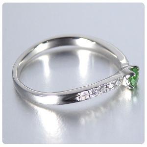 デマントイドガーネット 0.134ct 指輪 プラチナ リング ガーネット 0.134ct ダイヤ 0.095ct jewelry-sindbad 06