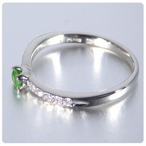 デマントイドガーネット 0.134ct 指輪 プラチナ リング ガーネット 0.134ct ダイヤ 0.095ct jewelry-sindbad 07
