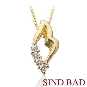 ●ダイヤモンド: 0.07ct  ●素材(ペンダントヘッド・チェーン):K18イエローゴールド ●寸...