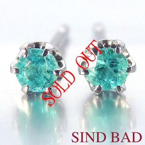 お買い上げ頂いたので、感謝の気持ち(サンキュー39)に価格を変更しました!パライバトルマリン 0.12ct|jewelry-sindbad