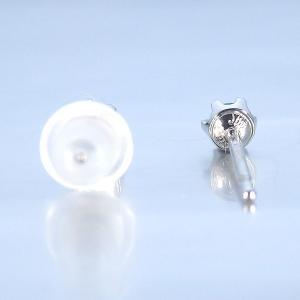 パライバトルマリン 0.06ct ペア プラチナ ピアス ブラジル産 パライバ 計 0.12ct jewelry-sindbad 05