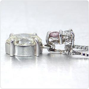 カラーダイヤ ネックレス トップ プラチナ ペンダント ヘッド ダイヤ 1.053ct ピンクダイヤ 0.058ct ダイヤ 0.08ct 中央宝石研究所鑑定書付き|jewelry-sindbad|04