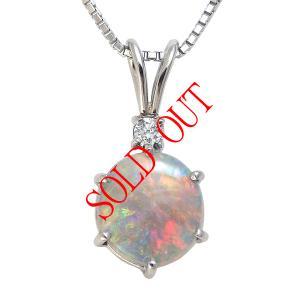 お買い上げ頂いたので、感謝の気持ち(サンキュー39)に価格を変更しました! オパール ネックレス トップ 0.89ct|jewelry-sindbad