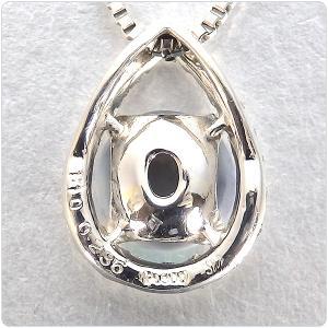 ブラックオパール ネックレス トップ プラチナ ペンダント ヘッド 1.10ct |jewelry-sindbad|04