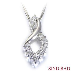 スイートテンダイヤモンド プラチナ ネックレス ペンダント 0.5ct 【スイート10】|jewelry-sindbad