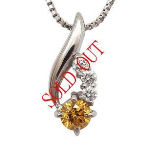 お買い上げ頂いたので、感謝の気持ち(サンキュー39)に価格を変更しました!  天然イエローダイヤ 0.091ct|jewelry-sindbad